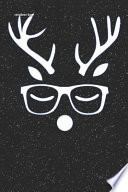 Reindeer Boy: Hunting Lined Notebook and Journal Composition Book Diary for Farmers