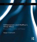 Utilitarianism and Malthus' Virtue Ethics Pdf/ePub eBook