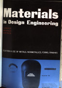 Materials in Design Engineering