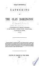 Sesqui Centennial Gathering Of The Clan Darlington Book PDF