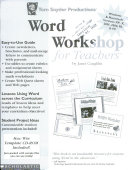 Word Workshop For Teachers