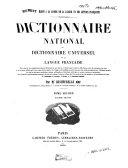 Dictionnaire national, ou Dictionnaire universel de la langue française