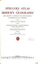 Stieler s Atlas of Modern Geography  Europe and Asia Book PDF