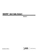 SAS STAT User s Guide Book