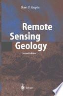 Remote Sensing Geology Book