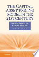 The Capital Asset Pricing Model in the 21st Century Book