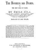 The Bonheur Des Dames, Or, The Shop Girls of Paris