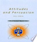 Attitudes And Persuasion