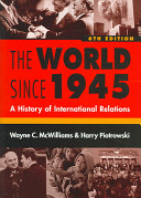 Cover of The World Since 1945