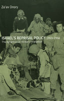 Israel's Reprisal Policy, 1953-1956