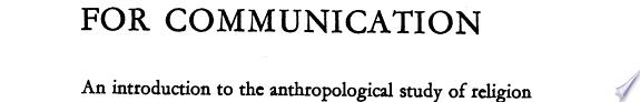 Symbols for Communication