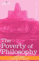 The Poverty of Philosophy Pdf/ePub eBook