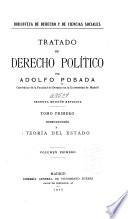 Tratado de derecho político: tomo. (v. 1-2) Teoria del estado