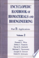 Encyclopedic Handbook of Biomaterials and Bioengineering  v  1 2  Applications