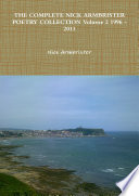 THE COMPLETE NICK ARMBRISTER POETRY COLLECTION Volume 2 1996   2013 Book