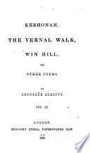 The Splendid Village  Corn Law Rhymes  and Other Poems