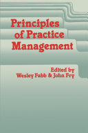 Principles of Practice Management