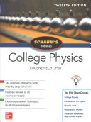 Cover of Schaum's Outline of College Physics, Twelfth Edition