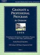 Graduate and Professional Programs