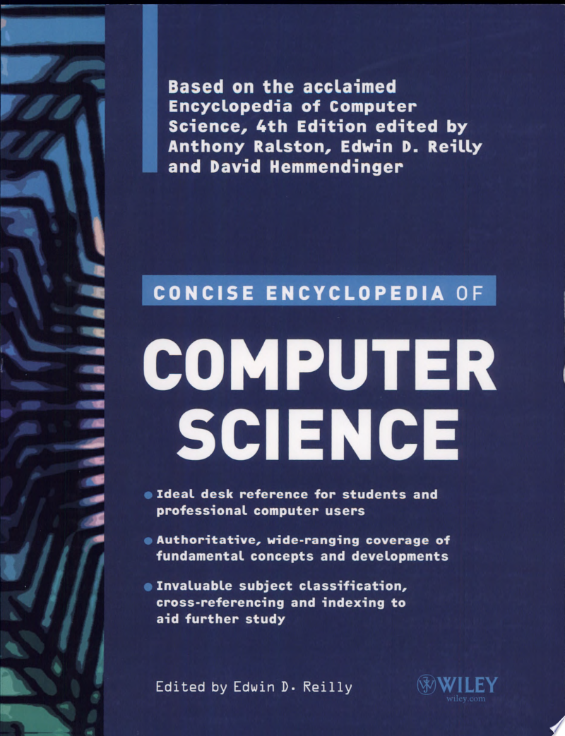 Concise Encyclopedia of Computer Science banner backdrop