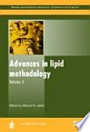 Advances In Lipid Methodology Book PDF