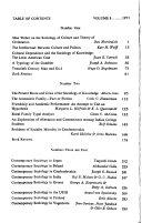 International journal of contemporary sociology Book
