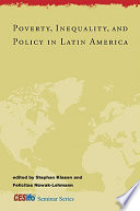 Poverty  Inequality  and Policy in Latin America