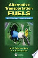 Alternative Transportation Fuels