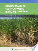 Biomass Modification  Characterization and Process Monitoring Analytics to Support Biofuel and Biomaterial Production