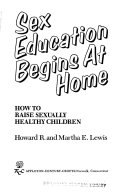 Sex Education Begins At Home Book PDF