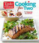 Taste of Home Cooking for Two Book