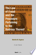 The Law of Fraud and the Procedure