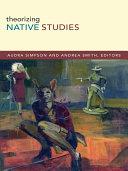 Pdf Theorizing Native Studies Telecharger