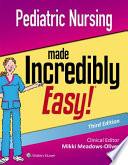 Pediatric Nursing Made Inc Easy 3