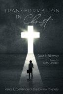Transformation in Christ
