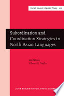 Subordination and Coordination Strategies in North Asian Languages