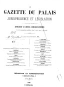 La Gazette du palais