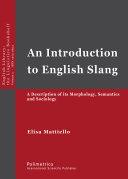 An Introduction to English Slang