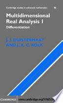 Multidimensional Real Analysis I