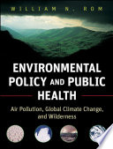 Environmental Policy And Public Health Book PDF