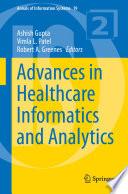 Advances in Healthcare Informatics and Analytics Book