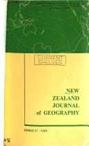 New Zealand Journal of Ecology Book
