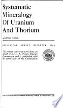 Read Online Systematic Mineralogy of Uranium and Thorium For Free