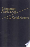 Computer Applications in the Social Sciences