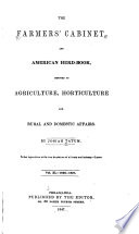 The Farmers  Cabinet  and American Herd book
