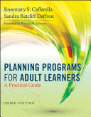Planning Programs for Adult Learners