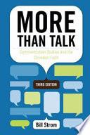 More Than Talk