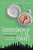 Remember Me Always [Pdf/ePub] eBook