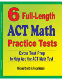 6 Full Length ACT Math Practice Tests