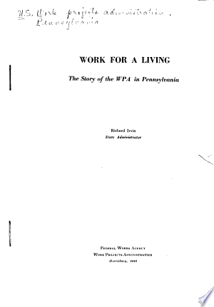 Read Online Work for a Living Full Book